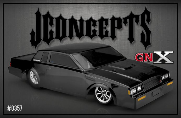 Main Photo: New JConcepts 1987 Buick Grand National Street Eliminator Body