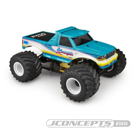 Main Photo: New JConcepts 1993 Ford F-250 Monster Truck Body