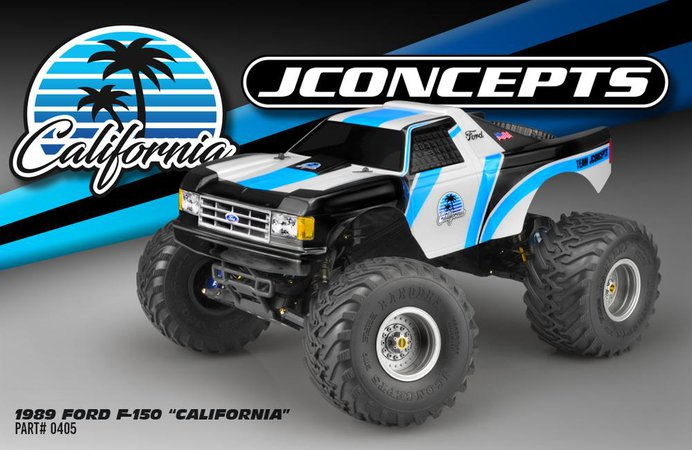 Main Photo: New JConcepts 1989 Ford F-150 California Traxxas Stampede Body