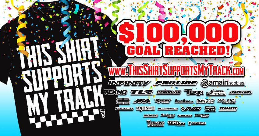 Main Photo: This Shirt Supports My Track: SR Racing/Brian Kinwald Buggy Bid Ends Tonight
