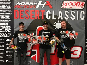 Gallery Photo: Double Desert Classic wins for Thayer and Yokomo