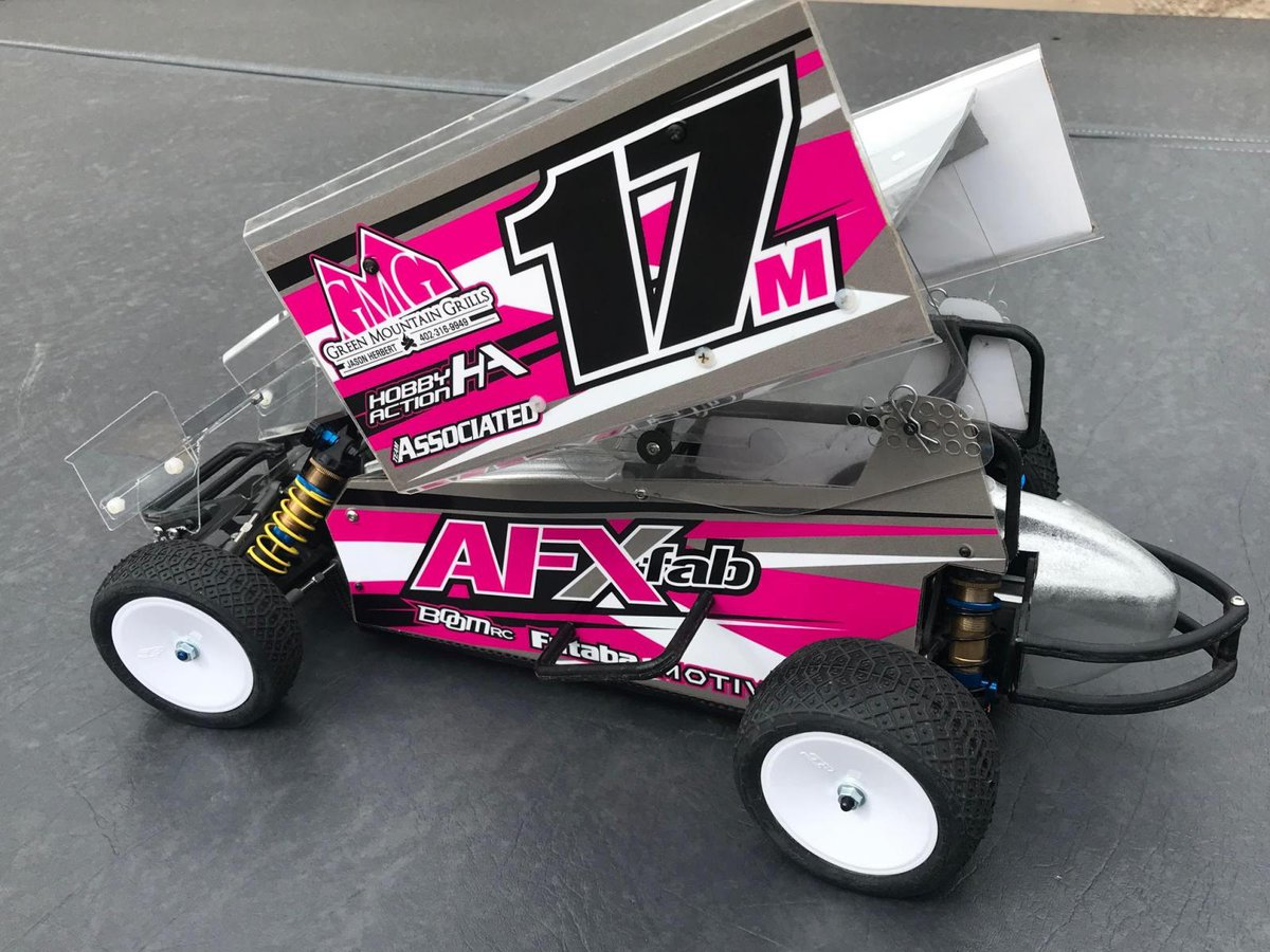 Liverc New Afx Fabrication Vtb Sprint Car Chassis Kit For The B6 1