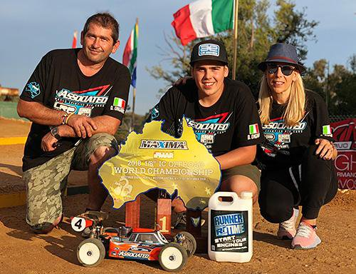 Main Photo: Ongaro Wins Team Associated's 29th WC