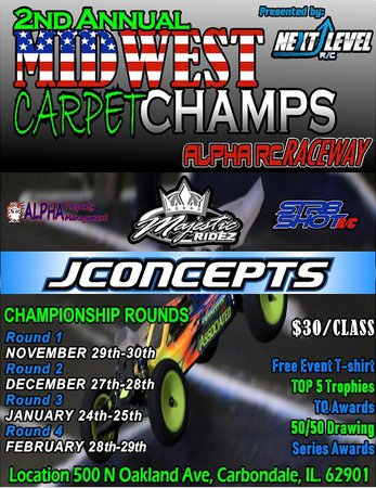 Main Photo: 2nd Annual Midwest Carpet Championships Announcement