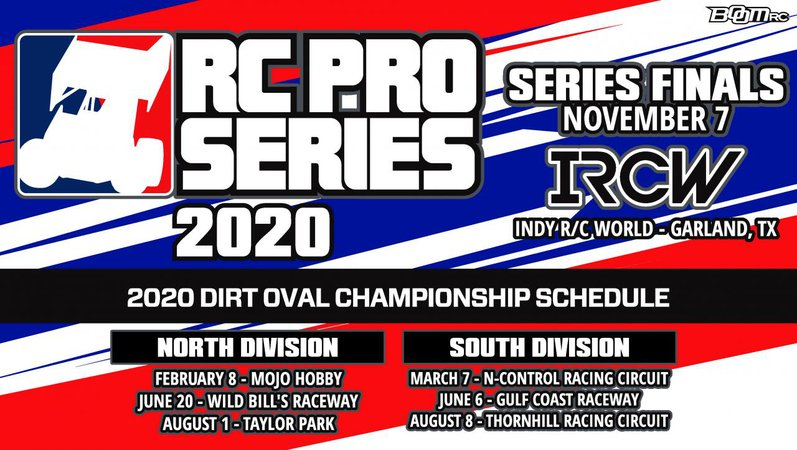Main Photo: 2020 RC Pro Oval North Round 1 Announcement