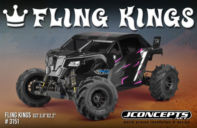 Main Photo: New JConcepts SCT Fling King Tires