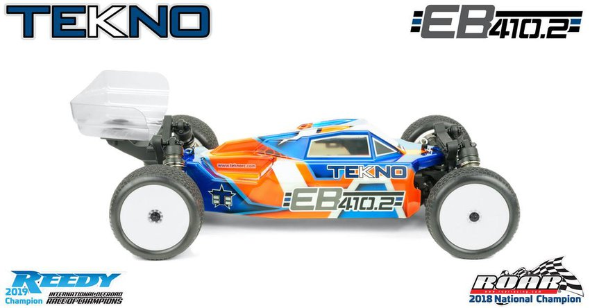 Main Photo: Tekno RC Unveils the New EB410.2 1/10 4wd Buggy