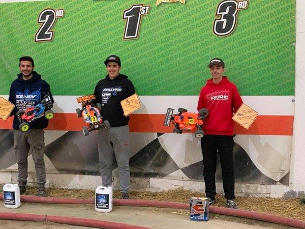 Main Photo: Ongaro and Baruffolo Win ACI Italian Champs R1