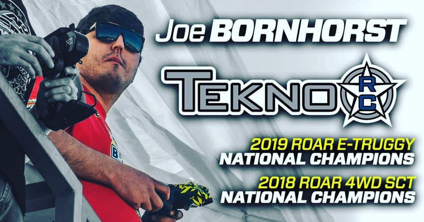 Main Photo: Bornhorst Re-Signs With Tekno RC