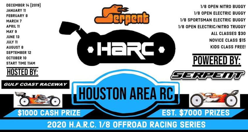 Main Photo: HARC Series Round 2 Announcement