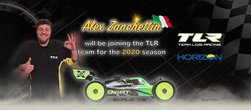Main Photo: Zanchettin Returns to TLR Europe