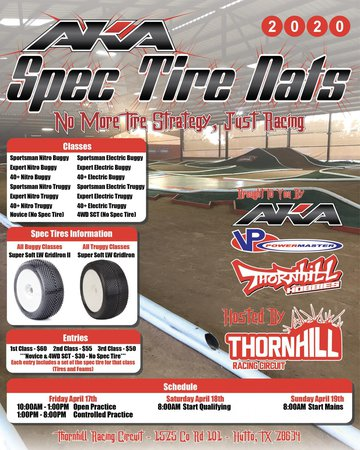 Main Photo: Thornhill AKA Spec Tire Nationals Announcement