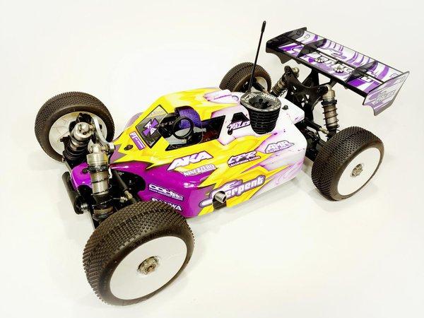 Main Photo: New Leadfinger Racing A2.1 Tactic SRX8 Pro Body