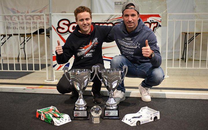 Main Photo: Rheinard and Murray Bring Schumacher Double World Championship Titles