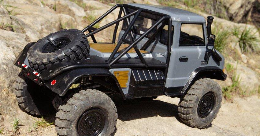 Main Photo: Axial Racing introduces new UMG10 1/10-scale crawler kit