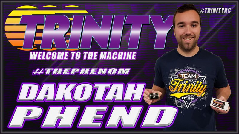 Main Photo: Dakotah Phend joins Team Trinity
