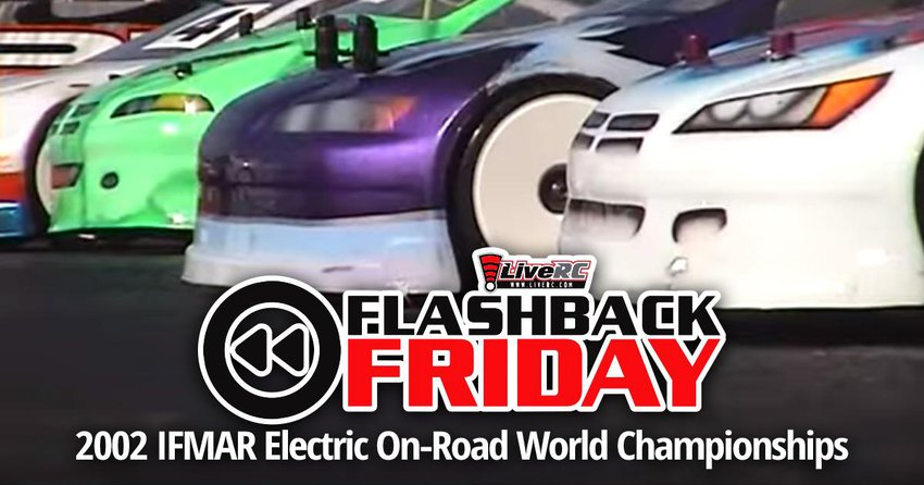 Main Photo: FLASHBACK FRIDAY: 2002 IFMAR Electric On-Road World Championships from South Africa [VIDEO]