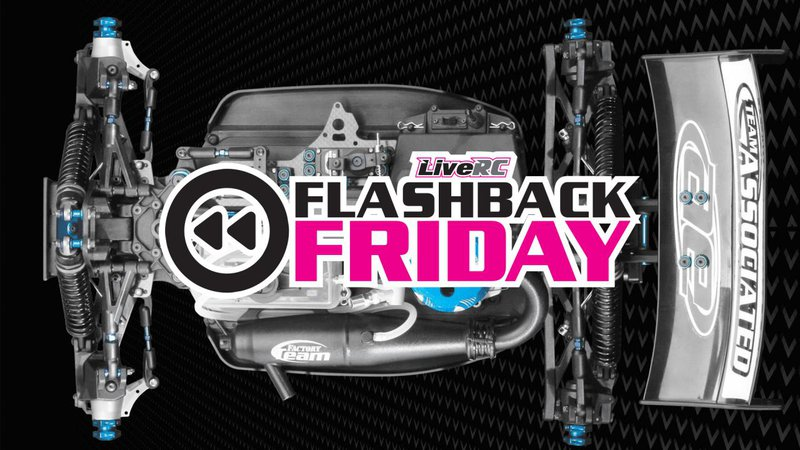Main Photo: FLASHBACK FRIDAY: Team Associated releases their first ever 1/8-scale off-road buggy