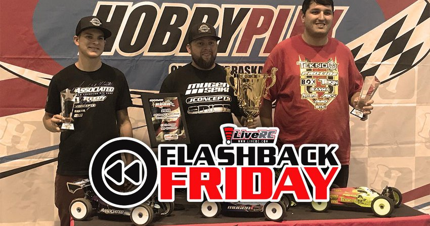 Main Photo: FLASHBACK FRIDAY: Maifield and Bornhorst Crowned 2018 ROAR 1/8 Electric National Champions [VIDEO]