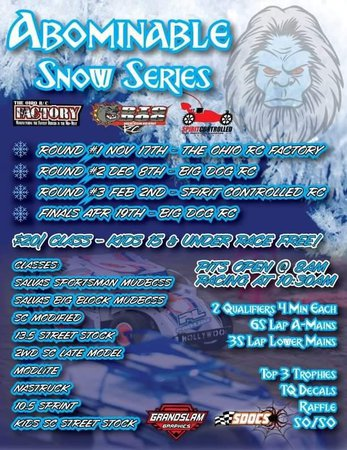 Main Photo: The Abominable Snow Series Announcement