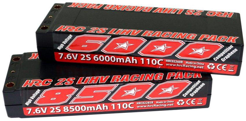 Main Photo: New HRC 2S LiHV Packs