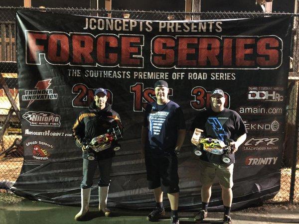 Main Photo: Drake Wins Force Series R5
