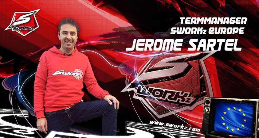 Main Photo: Jerome Sartel is the New Sworkz Europe Team Manager