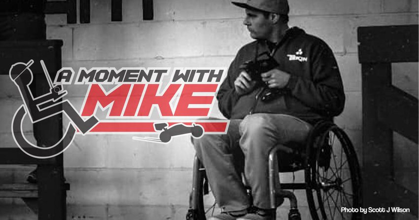Main Photo: A MOMENT WITH MIKE: My Turn in the Hot Seat