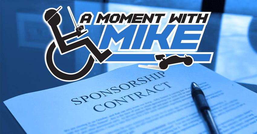 Main Photo: A MOMENT WITH MIKE: Silly Season is Coming - Sponsorship Reminders