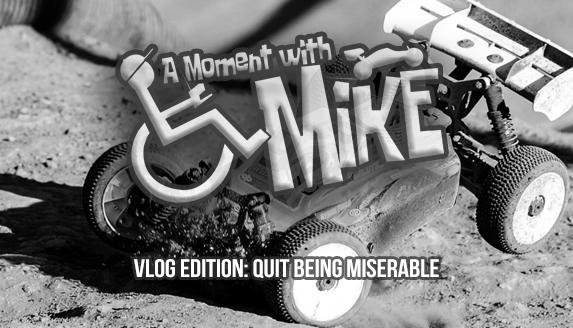 Main Photo: A MOMENT WITH MIKE - Vlog Edition: Quit being miserable [VIDEO]