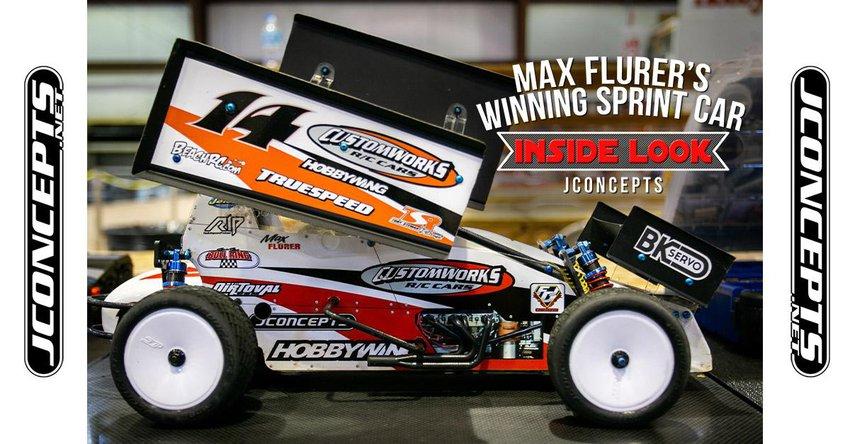 Main Photo: JConcepts Inside Look - Max Flurer's Winning Outlaw Sprint Car