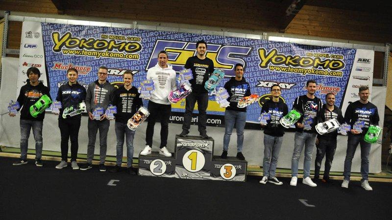 Main Photo: Volker, Ratheisky, and Dobnikar Split ETS R2 Wins