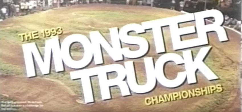 Main Photo: FLASHBACK FRIDAY: The 1993 Monster Truck Championships [VIDEO]
