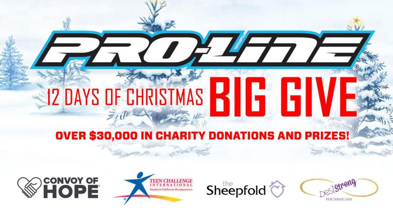 Main Photo: Pro-Line's 12 Days of Christmas BIG GIVE 2018