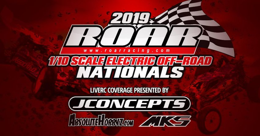 Main Photo: 2019 ROAR 1/10th Nationals: Rivkin, Maifield, Tessmann, Stoub, and Fuller are National Champions