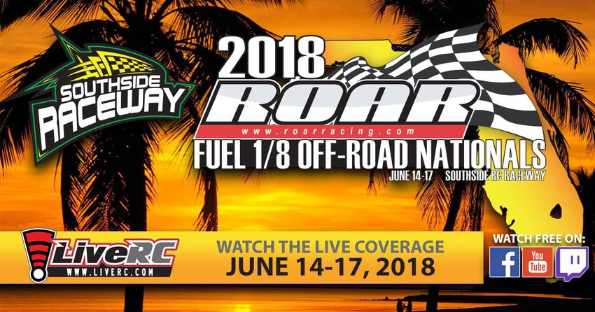 Main Photo: WATCH LIVE: 2018 ROAR Fuel Off-Road Nationals