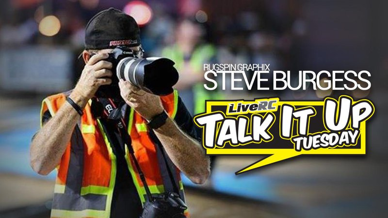 Main Photo: TALK IT UP TUESDAY: Photographer Steve Burgess of Rugspin Graphix