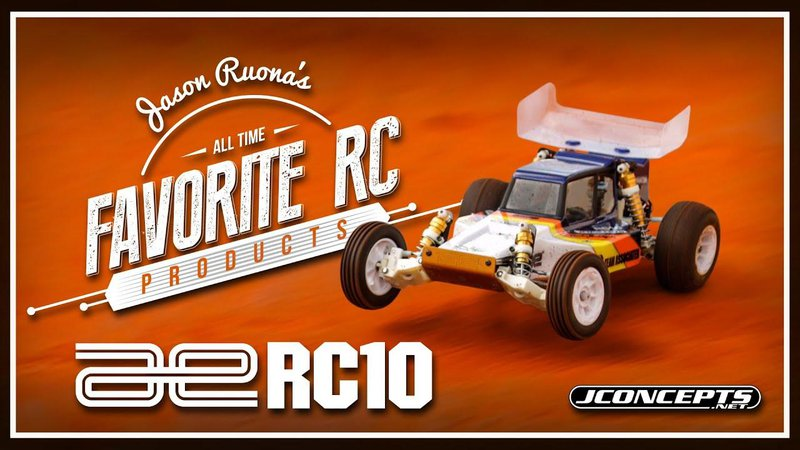 Main Photo: FLASHBACK FRIDAY: Jason Ruona's All Time Favorites - The RC10 [VIDEO]