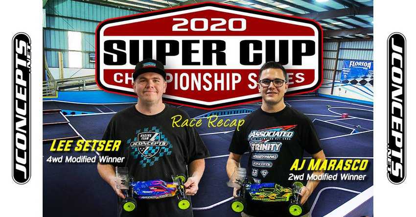 Main Photo: Marasco and Sester On Top at the JConcepts Super Cup Rd. 1