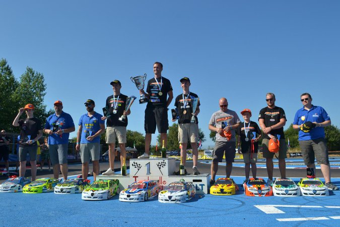 Main Photo: EFRA large scale touring and F1 results