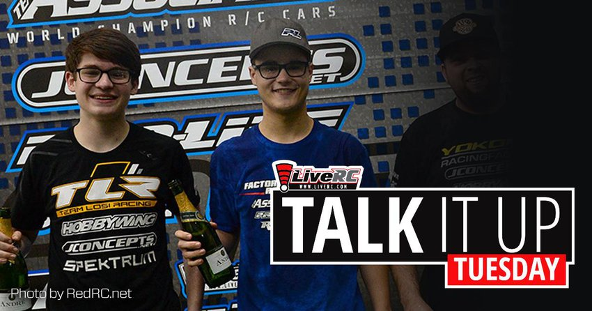 Main Photo: TALK IT UP TUESDAY: Reedy Race Open Champions - Aydin Horne and Tom Rinderknecht