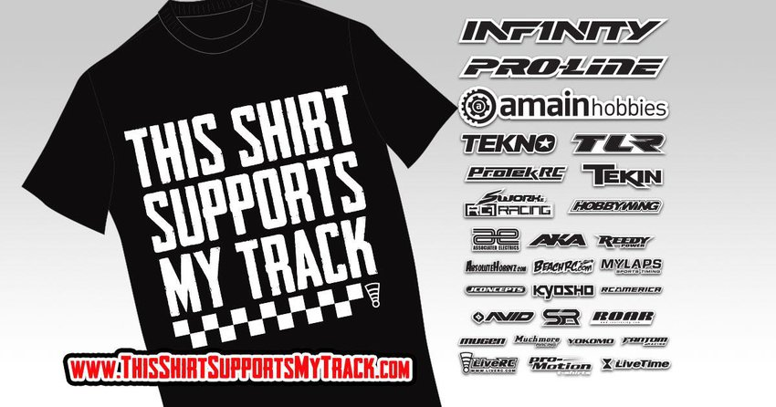 Main Photo: This Shirt Supports My Track: Welcome the New Sponsors