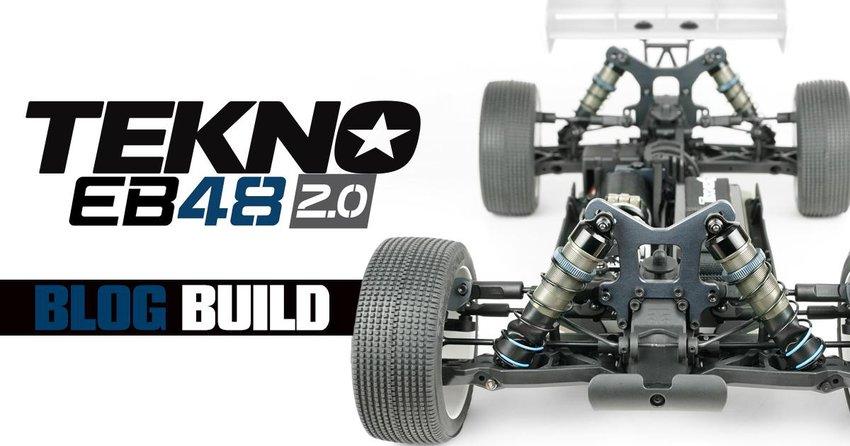 Main Photo: Tekno RC EB48 2.0 Bag A-C Blog Build