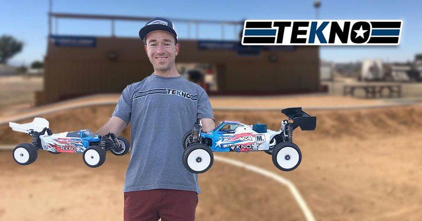 Main Photo: Jared Tebo joins Tekno RC