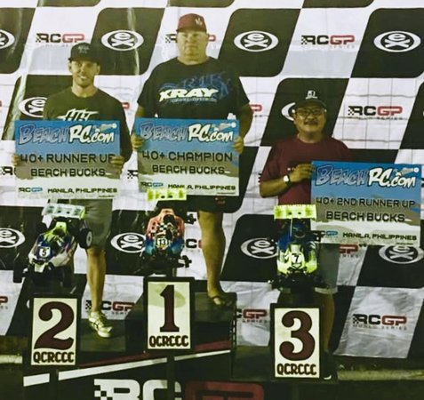 Main Photo: Kent Perry Wins RCGP R1 and R2 40+