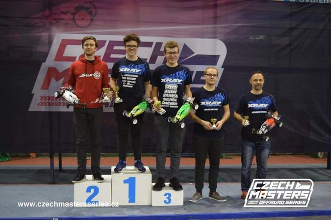Main Photo: Gotzl Takes 3 at Czech Masters R1