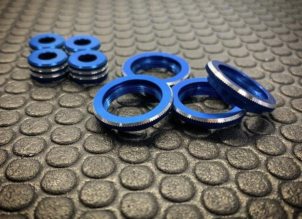 Main Photo: New WB Factory Racing Machined AE 12mm Shock Parts