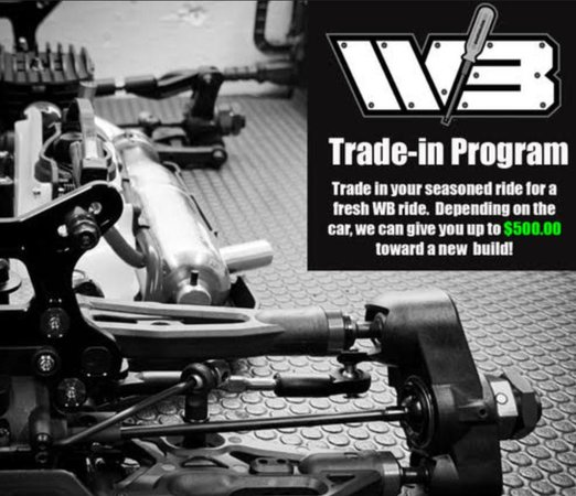 Main Photo: Wallie Builds Announces New Trade-In Program