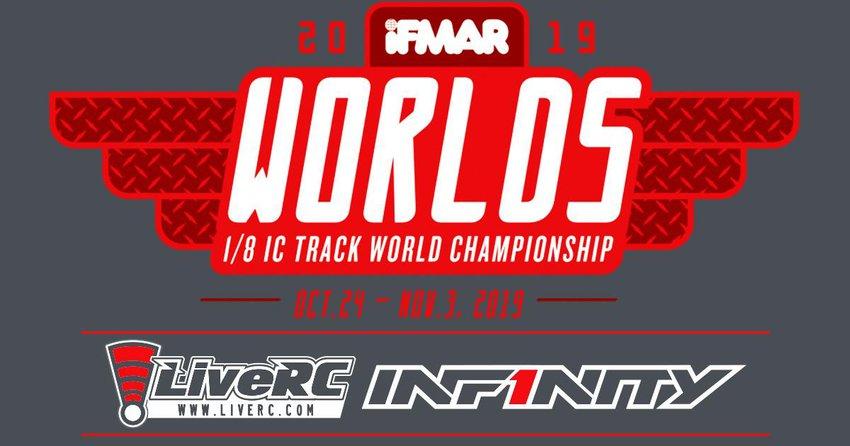 Main Photo: LiveRC and Infinity Presents 2019 IFMAR 1/8 IC Track World Championships Live Broadcast