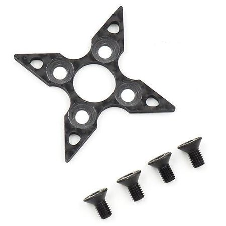 Main Photo: New Yeah Racing YD-2 graphite spur gear support plate